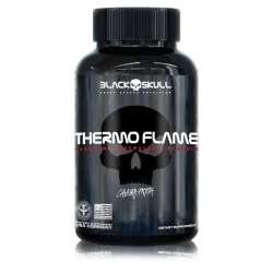 Thermo Flame Caveira Preta (60 Tabletes) - Black Skull
