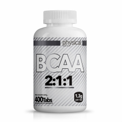 BCAA 2:1:1 -1,3g (400 Tabletes) - Physical Pharma