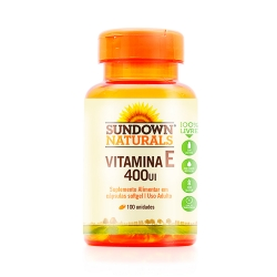 Vitamina E 400 (100 Cápsulas) - Sundown