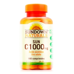Vitamina C1000 Sun (180 Tabletes) - Sundown