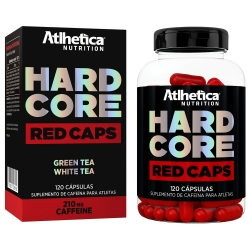 Hard Core Red (20 Cápsulas) - Atlhetica Nutrition
