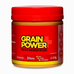 Pasta de Amendoim Integral Grain Power (1010g) - AmendoMel