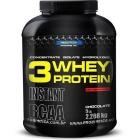 3 Whey Protein Morango Probiótica - 2.268g