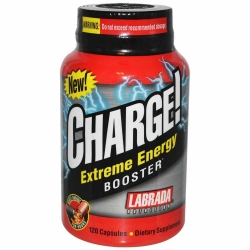 Charge Extreme Energy Booster Labrada - 120 Cápsulas