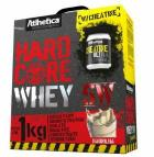 Hardcore Whey 5W (1Kg) Baunilha + Creatina (100g) - Athletica Evolution