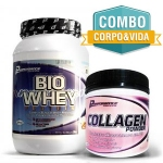 Compre Bio Whey 909g + Collagen Powder 300g - Performance Nutrition