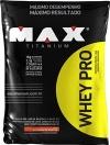 Whey Pro Refil - Morango - Max Titanium - 1,5 Kg