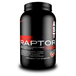 Raptor HP Beef Protein Sabor Chocolate (1.361g) - AST Sports