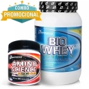 Bio Whey Protein 909g + Amino Science BCAA Powder 300g - Performance Nutrition