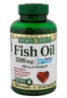 Óleo de Peixe - Fish Oil 1200mg - Natures Bounty