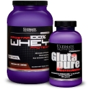 Prostar Whey 907g + Glutapure 400g - Ultimate Nutrition