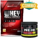 Whey Muscle Hammer + Pre HD 100g - Body Action