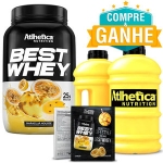 Best Whey - Atlhetica Nutrition - 900g + Galão 2,2L + Amostra Best Whey (1 dose)