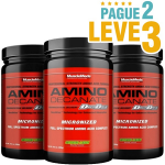 Compre (2 e Leve 3) - Amino Decanate Muscle Meds - 300g
