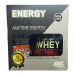 Whey Protein 100% Gold Standard Optimum Nutrition 1 Unidade 900g e ganhe 1 Energy Plus 150g
