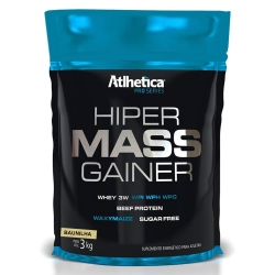 Hiper Mass Gainer Pro Series (3kg) - Atlhetica Nutrition
