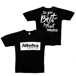 Camiseta com Manga Do Your Best And Forget The Rest - Athetica Nutrition