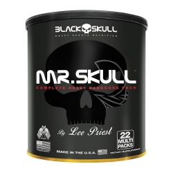 Mr Skull (22PKS) - Black Skull