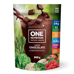 One vegan Nutrition - Chocolate (900g) - Pura Vida