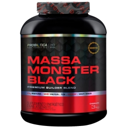 Massa Monster Black (3Kg) - Probiótica