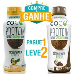Coconut Protein RTD - Muscle Pharm - 335ml e Ganhe outro