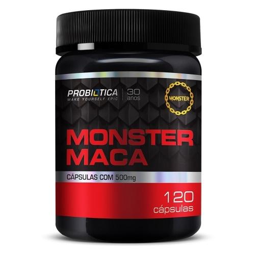 Monster Maca Peruana (120 Cápsulas) - Probiótica - 120 Cápsulas