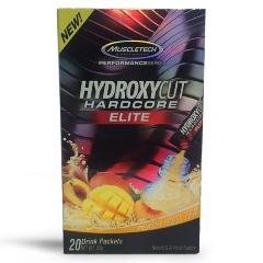Hydroxycut Hardcore Elite - Muscletech - 20 Sachês
