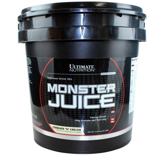 Monster Juice - Ultimate Nutrition - Chocolate - 4.540g