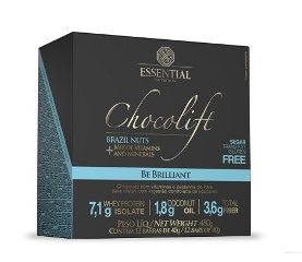 Chocolift Be Brilliant - Essential - 40g (1 Caixa 12 Unidades 40g)