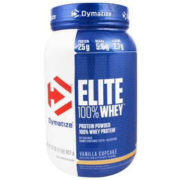 Elite Whey Protein Dymatize Baunilha Cupcake - 907g