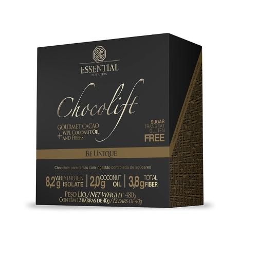 Chocolift Be Unique (Cx c/ 12 Unidades de 40g) - Essential