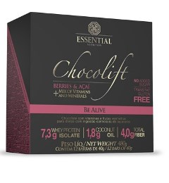 Chocolift Be Alive - Essential - 40g - 12 Unidades