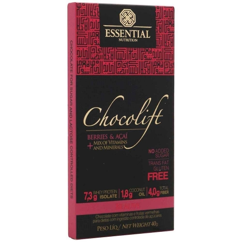 Chocolift Be Alive - Essential - 40g - 1 Unidade