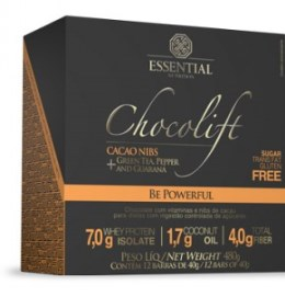 Chocolift Be Powerfull - Essential - 40g - 12 Unidades