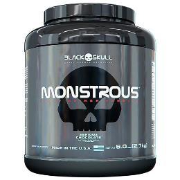 Monstrous Gainer - Black Skull - Amendoim - 2,7Kg