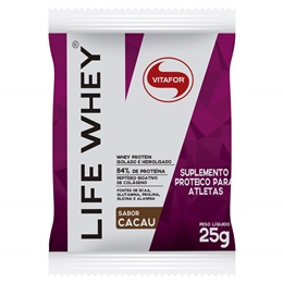 Life Whey Vitafor - Cacau - 1 Sachê