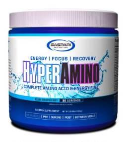Hyper Amino - Gaspari Nutrition - Framboesa - 300g