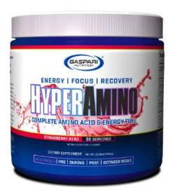 Hyper Amino - Gaspari Nutrition - Morango com Kiwi - 300g
