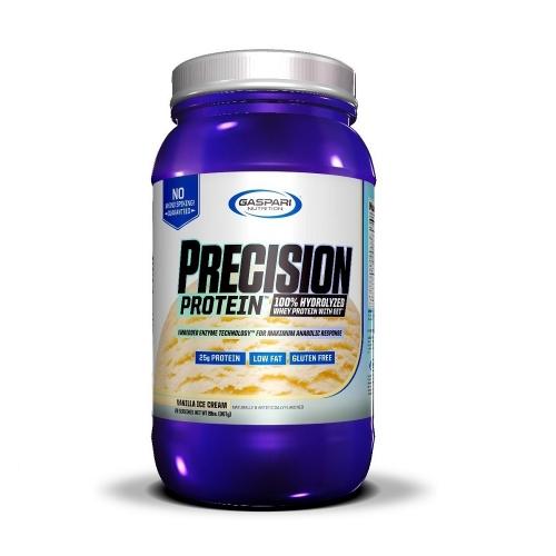 Whey Protein Hidrolisado Precision Protein - Gaspari Nutrition - Baunilha - 907g
