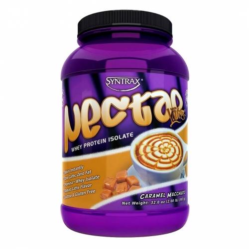 Nectar Whey Protein Isolado Sabor Caramel Macchiato (907g) - Syntrax