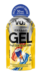 VO2 Energy Gel XCAFFEINE - Integralmédica - 30g - Energy Drink
