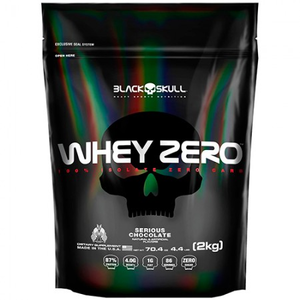 Whey Zero - Black Skull - Chocolate - 2 Kg (Refil)