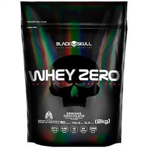 Whey Zero - Black Skull - Baunilha - 2 Kg (Refil)