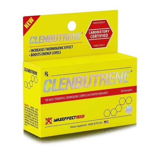 Clenbutrene - 60 comprimidos - Maxeffect Labs