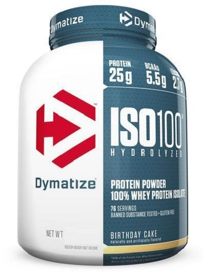 Whey Protein Hydrolized Iso 100 Sabor Chocolate c/ Coco (2,257Kg) - Dymatize