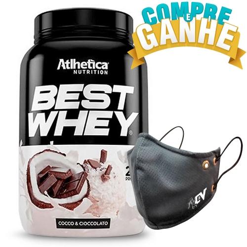 Compre Best Whey Sabor Coco e Chocolate (900g) e Ganhe Camiseta Best Whey - Atlhetica Nutrition