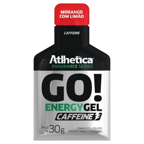 Go Energy Gel Caffeine- Atlhetica - Guaraná com Açaí - 30g