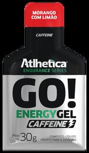 Go Energy Gel Caffeine- Atlhetica - Morango com Limão - 30g