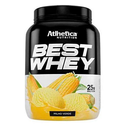 Best Whey Sabor Milho Verde (900g) - Atlhetica Nutrition