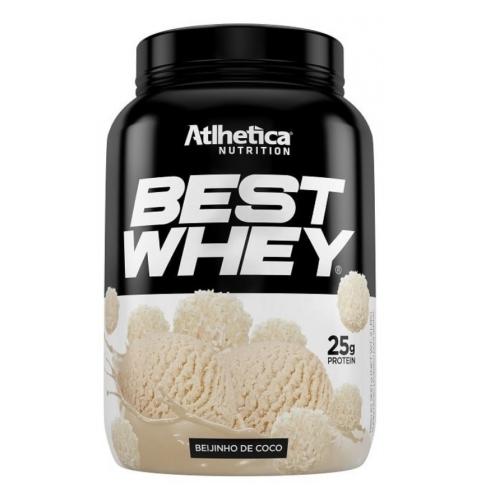 Best Whey Sabor Beijinho de Coco (900g) - Atlhetica Nutrition